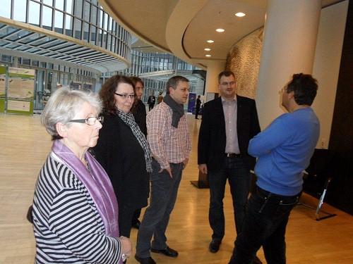 Besuch im Landtag
