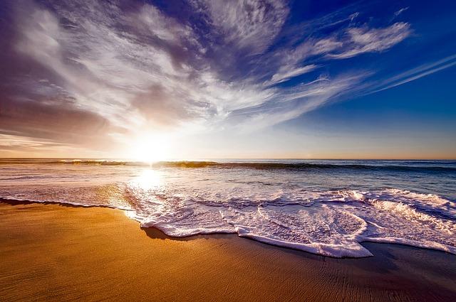 Strand, Sonne und Meer.