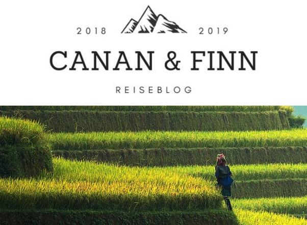 Screenshot des Blogs von Canan und Finn